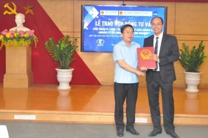 Lễ trao hợp đồng dịch vụ tư vấn P-1VIN
