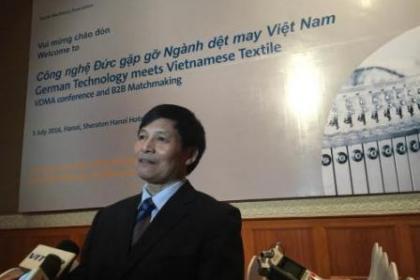Đưa công nghệ Đức gần hơn với ngành dệt may Việt Nam